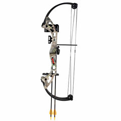 Bear Archery Brave Camo RH Bow Set AYS300CR
