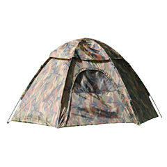 Texsport Camouflage Hexagon Dome 3-Person Dome Tent