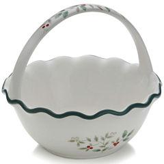 Pfaltzgraff® Winterberry Ruffled Handled Bowl