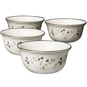 Pfaltzgraff® Winterberry Set of 4 Deep Serving Bowls