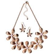 Mixit Womens 2-pc. Pink Jewelry Set