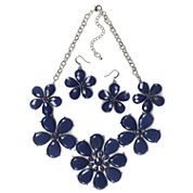 Mixit Womens 2-pc. Blue Jewelry Set