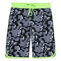 Arizona Boys Camouflage Trunks-Big Kid