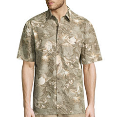 Island Shores Short Sleeve Printed Camp Shirt