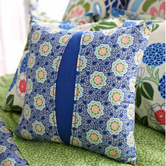 Amy Butler Square Throw Pillow