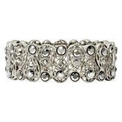 Liz Claiborne® Marcasite Stretch Bracelet
