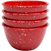 Zak Designs® Confetti Set of 4 Pub Prep Bowls