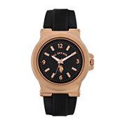 U.S. Polo Association® Mens Black Strap Watch