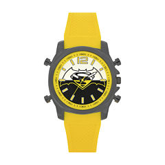 DC Comics® Mens Batman Yellow Strap Watch