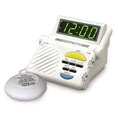 Sonic Alert SA-SB1000SS Sonic Boom Alarm Clock with Super Shaker