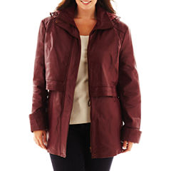 Excelled Hooded Anorak Jacket - Plus