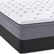 Sealy® Posturepedic® Meadowlark Plush European Top - Mattress + Box Spring