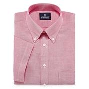 Stafford® Travel Short-Sleeve Wrinkle-Free Oxford Dress Shirt - Big &Tall