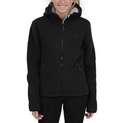 Champion® Sherpa-Lined Microfleece Hooded Jacket - Plus