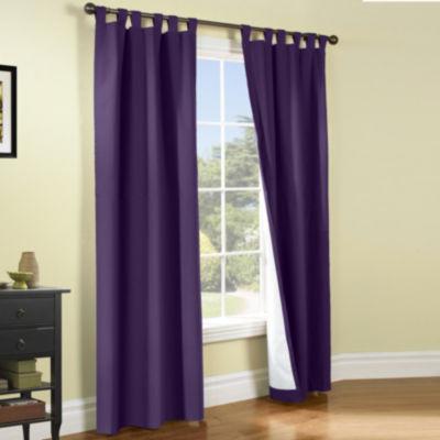 weathermate 2pack tabtop curtain panels
