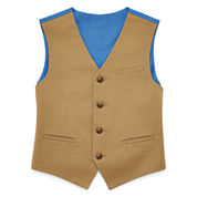 IZOD® Fine-Twill Suit Vest - Boys 8-20