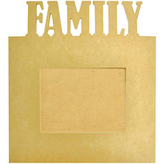 Beyond The Page Family Craft Photo Frame