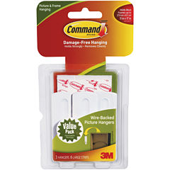 Command Brand ™ Wire Back Picture Hangers