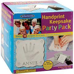 Milestones Handprint Keepsake Party Pack