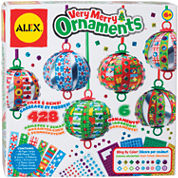 ALEX TOYS® Very Merry Ornaments Scrapbook Kit