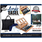 Acrylic Easel Art Set With Easy To Store Bag