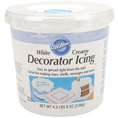 Wilton® Decorator Icing, Creamy White