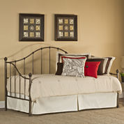 Caralee Metal Daybed with Trundle Option