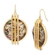 Worthington Abalone Large Drop Earring