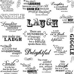 Fiskars Laugh With Me Clear Stamps Sheets