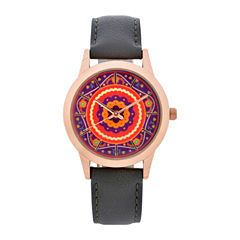 Mixit Womens Gray Strap Watch-Wac5299jc