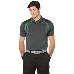 PGA Tour Short Sleeve Solid Polo Shirt