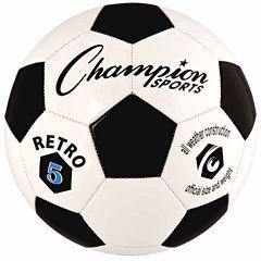 Champion Sports Retro 3 Soccer Ball