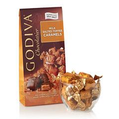 Godiva Milk Chocolate Salt Toffee Caramels