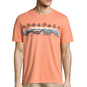 Island Shores Short Sleeve Crew Neck T-Shirt