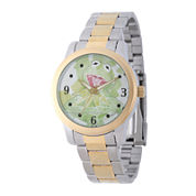 Disney Mens Kermit Two-Tone Stainless Steel Bracelet Watch