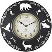 FirsTime® Lodge Collection Wall Clock