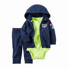 Carter's 3-pc. Long Sleeve Pant Set-Baby Boy