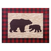 Trend Lab Northwoods Bear Canvas Wall Art