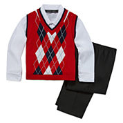 Andrew Fezze Boys Suit Set-Big Kid
