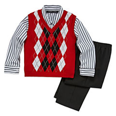 Andrew Fezze Sweater Vest Set - Toddler Boys 2t-5t