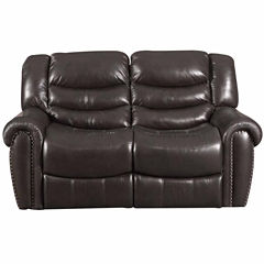Bassett® Yale Motion Loveseat with Power