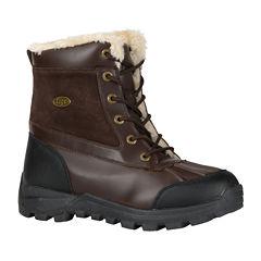 Lugz® Tambora Mens Mid Water-Resistant Work Boots