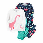 Carter's Girls 4-pc. Pant Set-Toddler