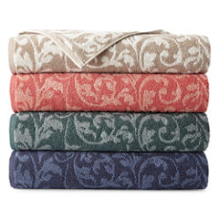 Royal Velvet® Florence Scroll Bath Towel Collection