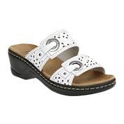 Clarks® Lexi Laurel Strap Sandals