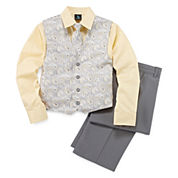Steve Harvey® 4-pc. Paisley Vest Set - Boys 8-20