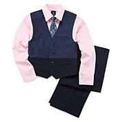 Steve Harvey® 4-pc. Vest, Pants, Shirt, Tie Set - Boys 8-20