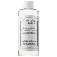 Christophe Robin Clarifying Shampoo with Camomile and Cornflower Progressive Lightening Treatment