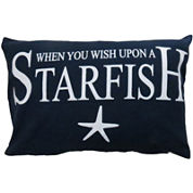Park B. Smith® When You Wish Upon A Starfish Decorative Pillow