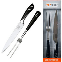 Top Chef® 2-pc. Stainless Steel Carving Set